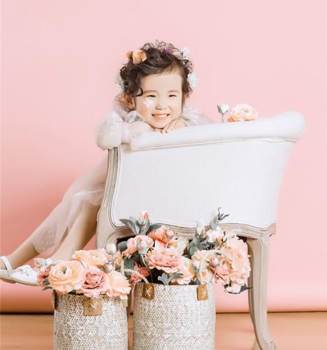 粉红小公主 儿童摄影