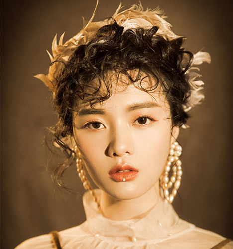 时尚复古新娘造型 化妆造型