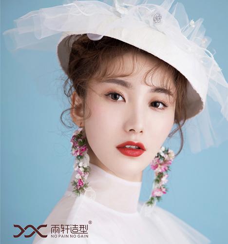 复古风新娘造型 化妆造型