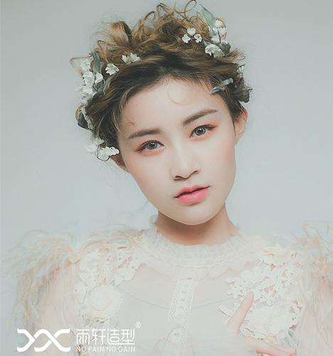 唯美新娘 化妆造型