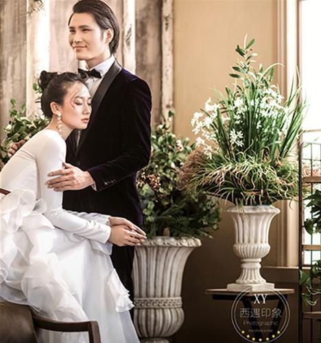简欧式 婚纱照