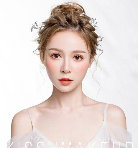清新少女韩式造型 化妆造型
