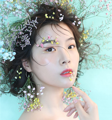 超时尚甜心新娘妆容造型 化妆造型