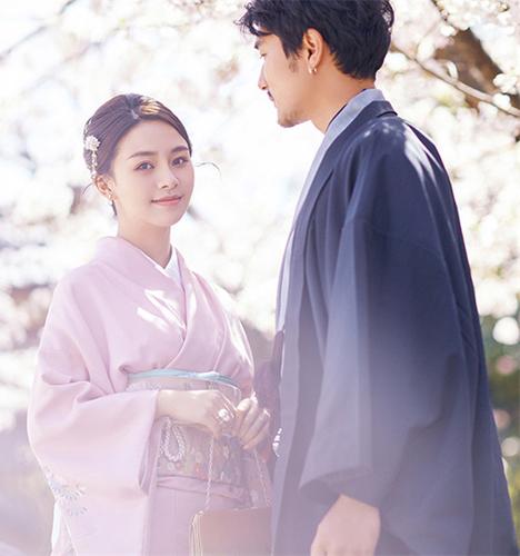 樱花节 婚纱照