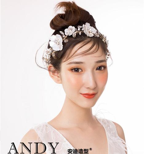 减龄新娘造型 化妆造型
