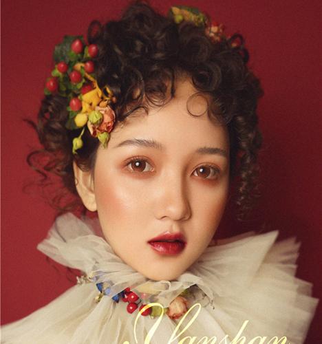 油画风新娘 化妆造型