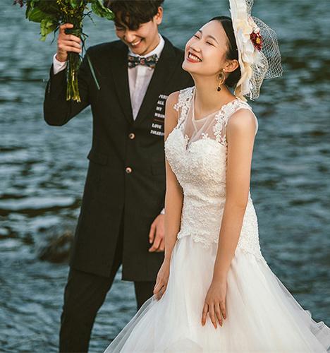 湄公河 婚纱照