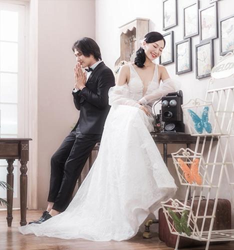 韩式恋情 婚纱照