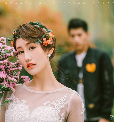 春日 婚纱照