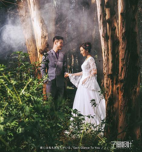 密林深处 婚纱照