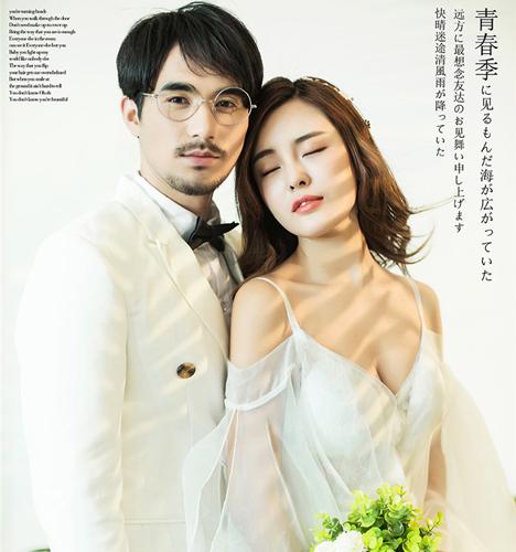 青春季 婚纱照