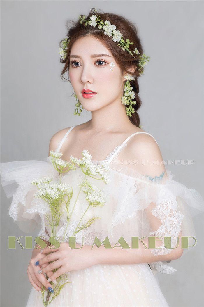 时尚新娘造型 化妆造型