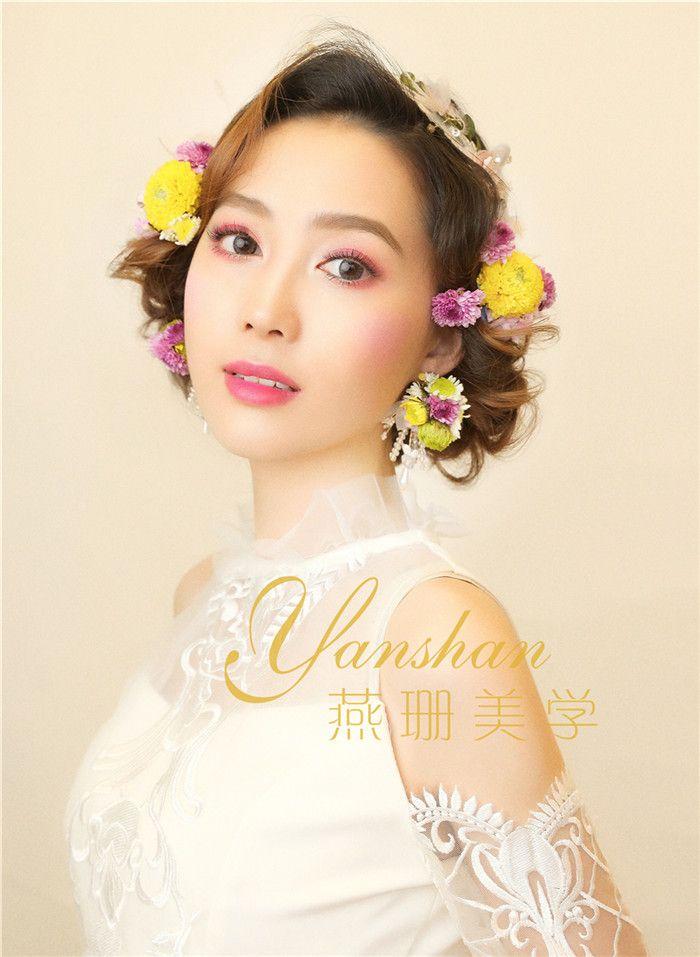 仙气新娘 化妆造型