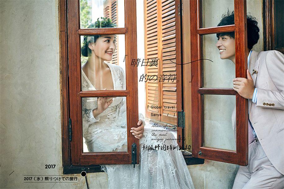 爱の音符 婚纱照