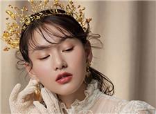 含蓄而闪耀 最新洛可可时尚新娘造型