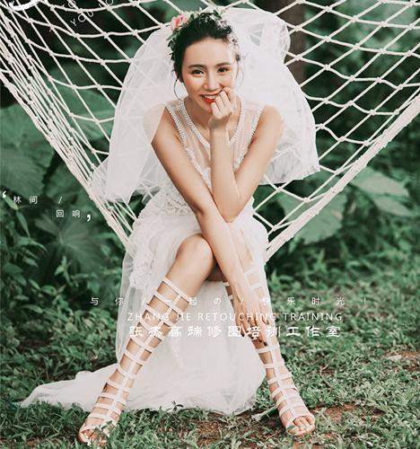 林间回响 婚纱照