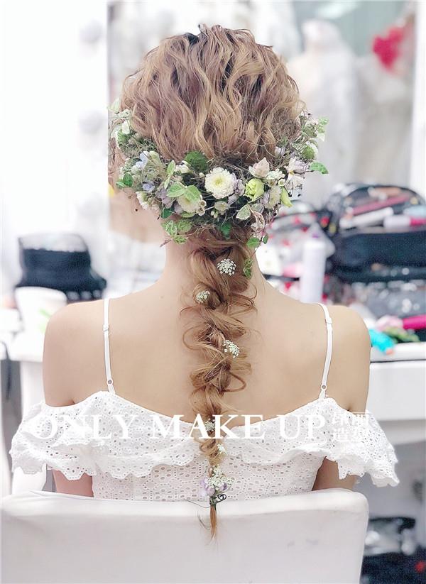 新娘鲜花造型赏析