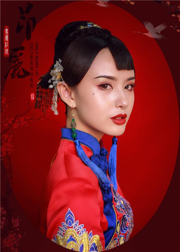 中式新娘妆容造型赏析图片