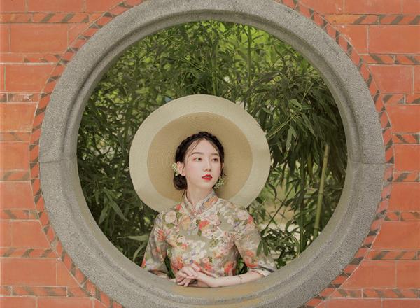 画中人:复古风旗袍人像摄影