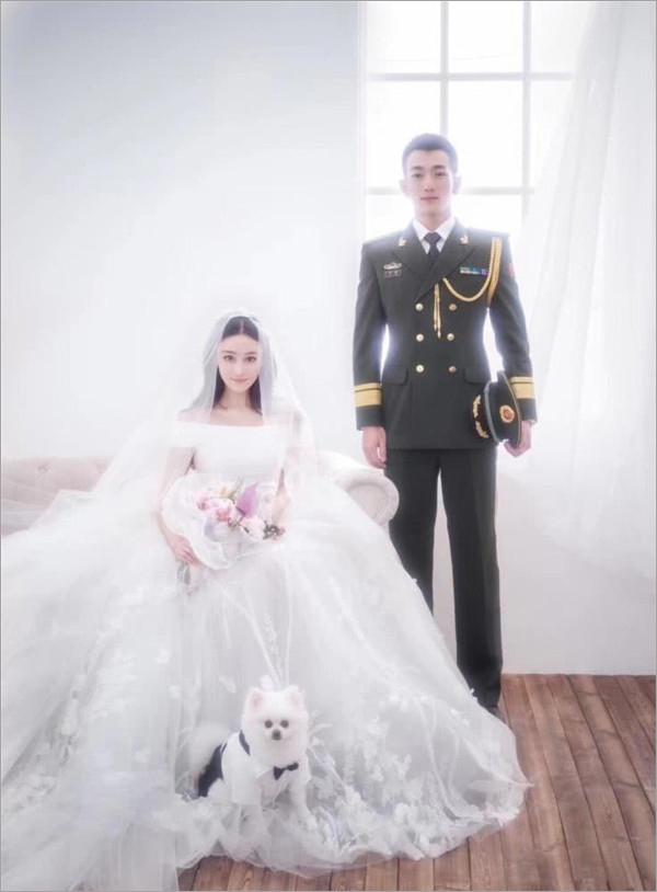 宁丹琳老公结婚照片_张馨予宣布与武警老公结婚 婚纱照甜蜜曝光