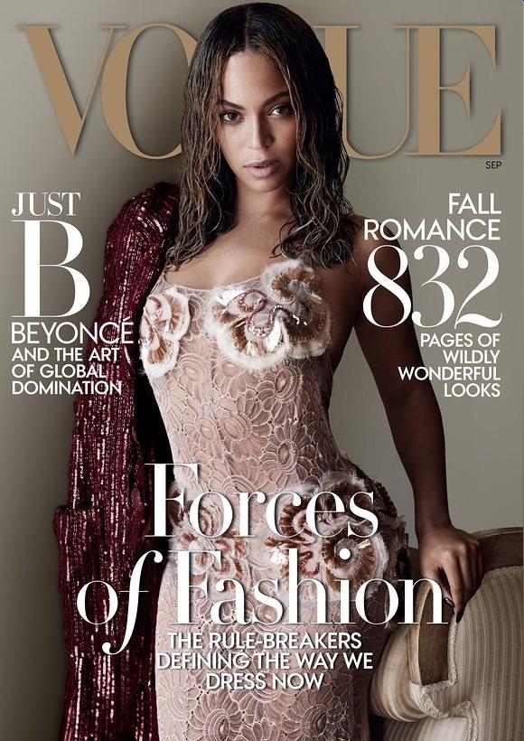 碧昂丝成Vogue客座编辑 任用首位黑人封面摄影师