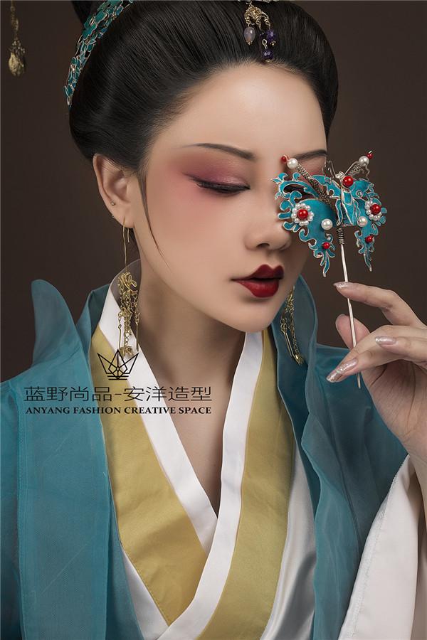 古装写真造型妆面赏析