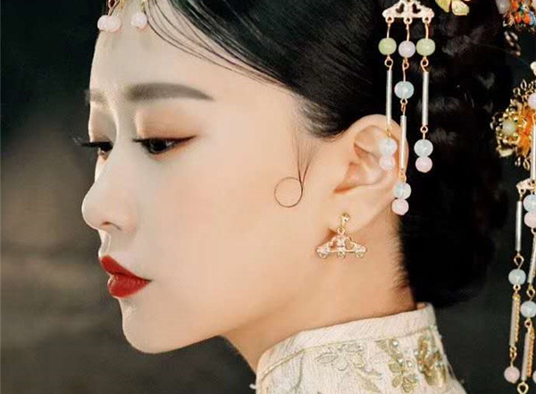 中式新娘整体造型欣赏
