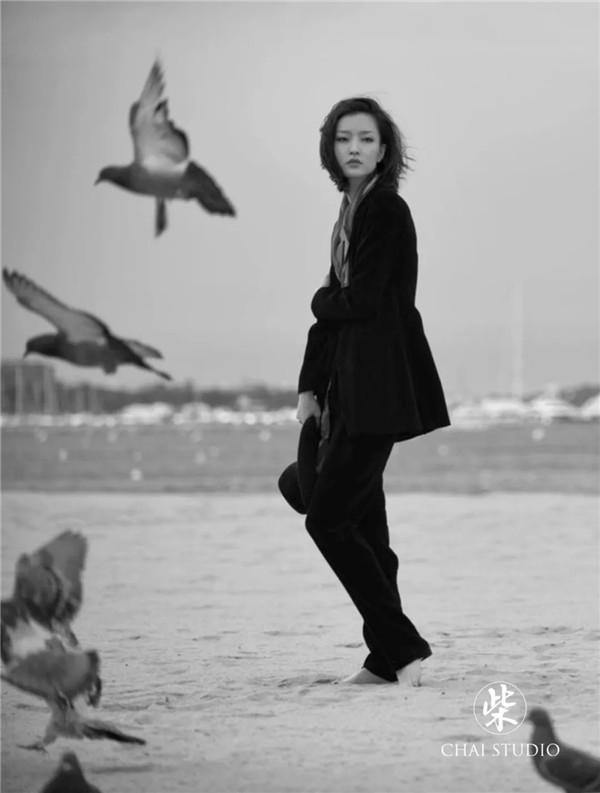模特演员杜鹃   柴利增时尚摄影作品