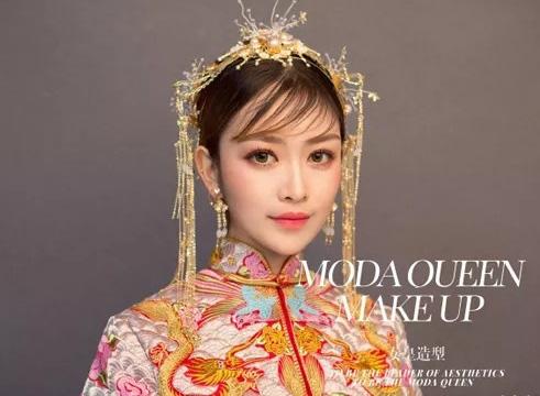 中式新娘妆发造型欣赏