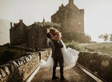 婚纱摄影还可以这样拍 20张富有创意的婚纱照