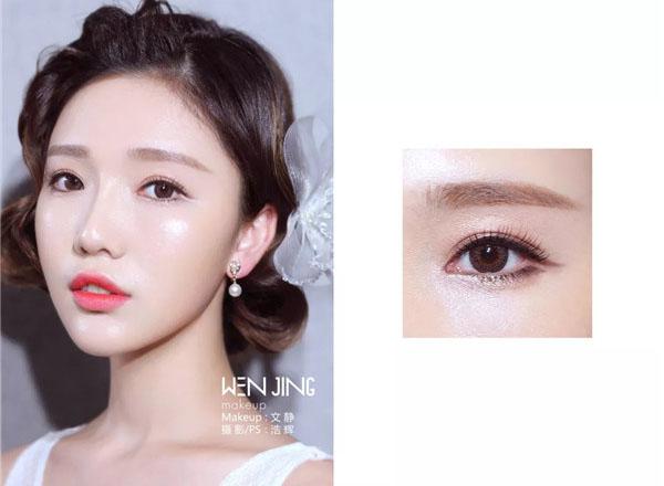 最新影樓資訊新聞-日韓輕柔風妝面和眼妝搭配