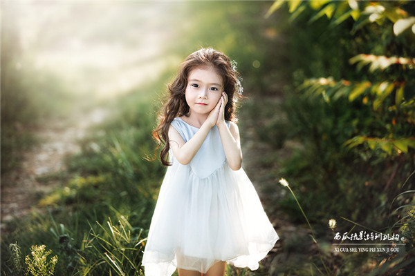 小仙女儿来啦,可爱儿童写真作品