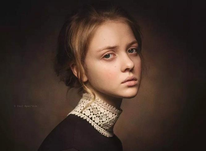 灵魂深处的优雅,肖像摄影实例