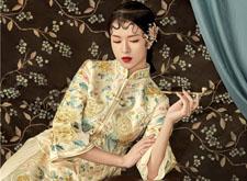 温婉大气 复古中式新娘造型欣赏