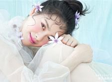 甜美慵懒的抽丝新娘造型欣赏