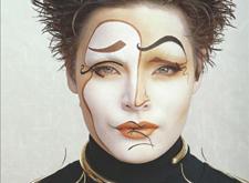 这个厉害的化妆师把明星的脸变成了画布