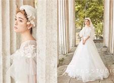 宫廷复古新娘整体造型欣赏