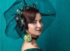 帽饰时尚复古造型,沉稳大气