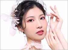 甜美日系新娘造型 仙气十足