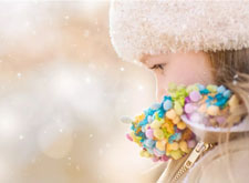 儿童摄影师 Gina 的冬季外拍经验