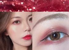 化妆教程:2018圣诞美妆*火妆容——麋鹿妆