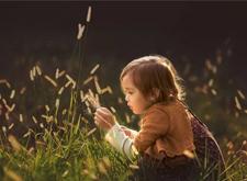 儿童摄影作品点评:自然光摄影