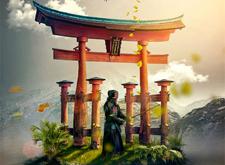 印尼设计师概念艺术海报设计展示