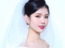 简约韩式新娘造型,端庄典雅