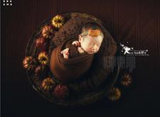 新生儿修图赏析:天使飞进我的梦里