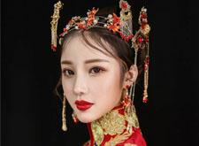 中式新娘造型 感受中国风的底蕴之美