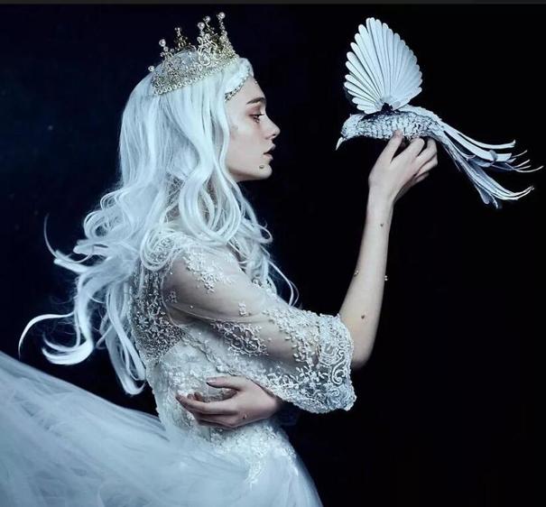 一不小心就成仙了,她镜头下的模特美似精灵!