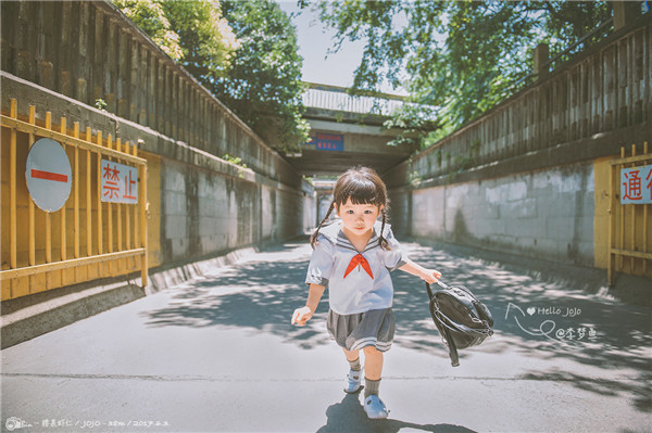 儿童小清新风格人像拍摄