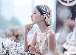不同种类头纱的满分高级感仪式造型