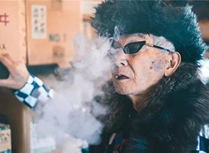最新影楼资讯新闻-84岁日本爷爷时尚照火遍全网,有趣才是抵御岁月的法宝!